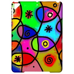 Digitally Painted Colourful Abstract Whimsical Shape Pattern Apple Ipad Pro 9 7   Hardshell Case by BangZart