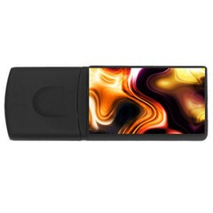 Colourful Abstract Background Design Usb Flash Drive Rectangular (4 Gb)