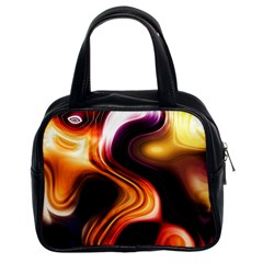 Colourful Abstract Background Design Classic Handbags (2 Sides) by BangZart