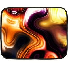 Colourful Abstract Background Design Fleece Blanket (mini)