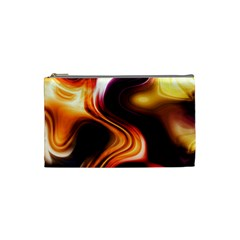 Colourful Abstract Background Design Cosmetic Bag (small)  by BangZart