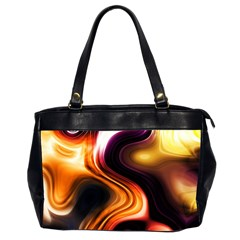 Colourful Abstract Background Design Office Handbags (2 Sides)  by BangZart