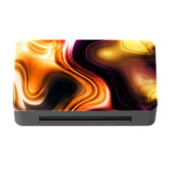 Colourful Abstract Background Design Memory Card Reader With Cf by BangZart