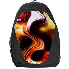 Colourful Abstract Background Design Backpack Bag by BangZart