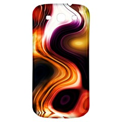 Colourful Abstract Background Design Samsung Galaxy S3 S Iii Classic Hardshell Back Case by BangZart