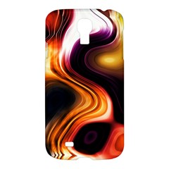 Colourful Abstract Background Design Samsung Galaxy S4 I9500/i9505 Hardshell Case
