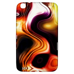 Colourful Abstract Background Design Samsung Galaxy Tab 3 (8 ) T3100 Hardshell Case