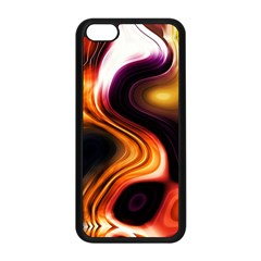 Colourful Abstract Background Design Apple Iphone 5c Seamless Case (black) by BangZart