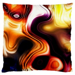 Colourful Abstract Background Design Standard Flano Cushion Case (two Sides)