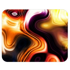 Colourful Abstract Background Design Double Sided Flano Blanket (medium)  by BangZart