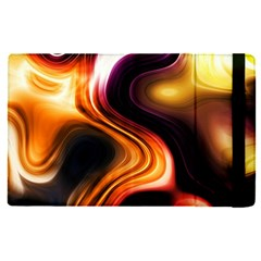 Colourful Abstract Background Design Apple Ipad Pro 9 7   Flip Case by BangZart