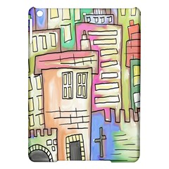 A Village Drawn In A Doodle Style Ipad Air Hardshell Cases by BangZart