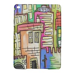 A Village Drawn In A Doodle Style Ipad Air 2 Hardshell Cases