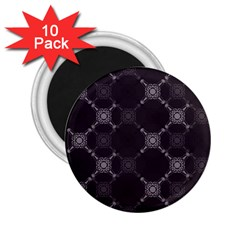 Abstract Seamless Pattern Background 2 25  Magnets (10 Pack)