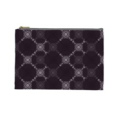 Abstract Seamless Pattern Background Cosmetic Bag (large)