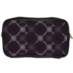 Abstract Seamless Pattern Background Toiletries Bags 2 Side by BangZart