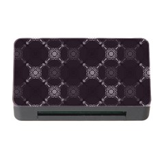 Abstract Seamless Pattern Background Memory Card Reader With Cf