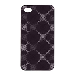 Abstract Seamless Pattern Background Apple Iphone 4/4s Seamless Case (black)