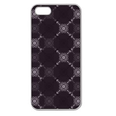 Abstract Seamless Pattern Background Apple Seamless Iphone 5 Case (clear)