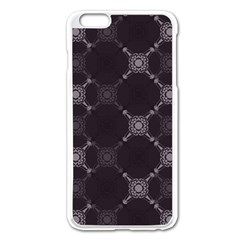 Abstract Seamless Pattern Background Apple Iphone 6 Plus/6s Plus Enamel White Case