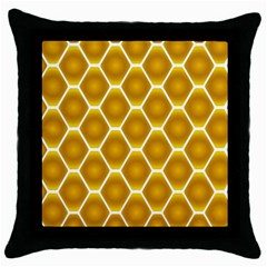 Snake Abstract Pattern Throw Pillow Case (black) by BangZart