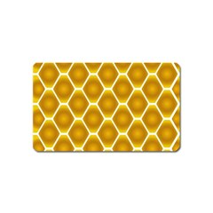 Snake Abstract Pattern Magnet (name Card)