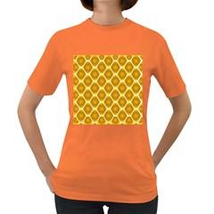 Snake Abstract Pattern Women s Dark T Shirt