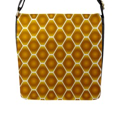 Snake Abstract Pattern Flap Messenger Bag (l)  by BangZart