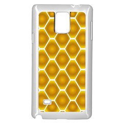 Snake Abstract Pattern Samsung Galaxy Note 4 Case (white) by BangZart