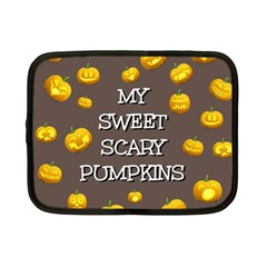 Hallowen My Sweet Scary Pumkins Netbook Case (small)  by BangZart