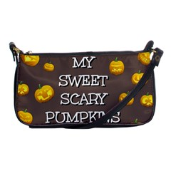 Hallowen My Sweet Scary Pumkins Shoulder Clutch Bags by BangZart