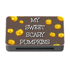 Hallowen My Sweet Scary Pumkins Memory Card Reader With Cf