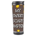Hallowen My Sweet Scary Pumkins Travel Tumbler Center