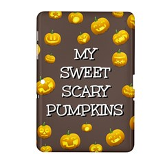 Hallowen My Sweet Scary Pumkins Samsung Galaxy Tab 2 (10 1 ) P5100 Hardshell Case  by BangZart