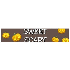 Hallowen My Sweet Scary Pumkins Flano Scarf (small)