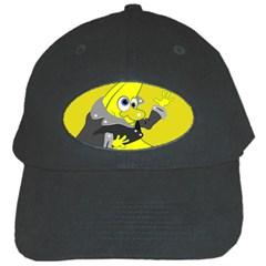 Funny Cartoon Punk Banana Illustration Black Cap by BangZart
