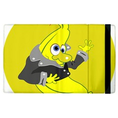 Funny Cartoon Punk Banana Illustration Apple Ipad 3/4 Flip Case