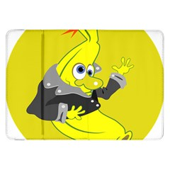 Funny Cartoon Punk Banana Illustration Samsung Galaxy Tab 8 9  P7300 Flip Case by BangZart