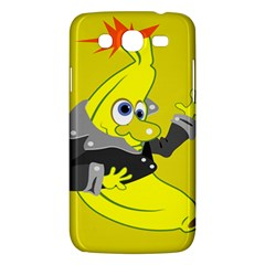 Funny Cartoon Punk Banana Illustration Samsung Galaxy Mega 5 8 I9152 Hardshell Case  by BangZart