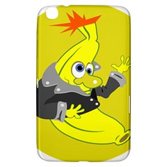 Funny Cartoon Punk Banana Illustration Samsung Galaxy Tab 3 (8 ) T3100 Hardshell Case  by BangZart