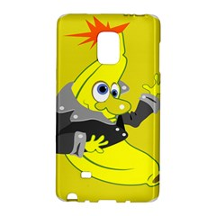 Funny Cartoon Punk Banana Illustration Galaxy Note Edge by BangZart