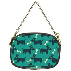 Happy Dogs Animals Pattern Chain Purses (one Side)  by BangZart