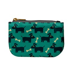 Happy Dogs Animals Pattern Mini Coin Purses