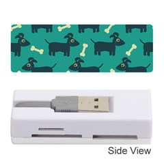 Happy Dogs Animals Pattern Memory Card Reader (stick)