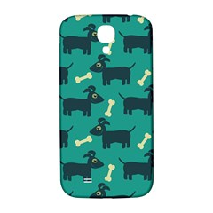 Happy Dogs Animals Pattern Samsung Galaxy S4 I9500/i9505  Hardshell Back Case by BangZart
