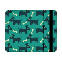 Happy Dogs Animals Pattern Samsung Galaxy Tab Pro 8 4  Flip Case