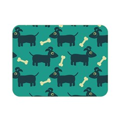 Happy Dogs Animals Pattern Double Sided Flano Blanket (mini)  by BangZart