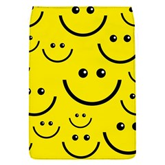 Digitally Created Yellow Happy Smile  Face Wallpaper Flap Covers (s)