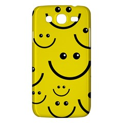 Digitally Created Yellow Happy Smile  Face Wallpaper Samsung Galaxy Mega 5 8 I9152 Hardshell Case  by BangZart