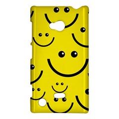 Digitally Created Yellow Happy Smile  Face Wallpaper Nokia Lumia 720 by BangZart